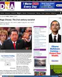 Hugo Chavez The 21st century socialist: DNA
